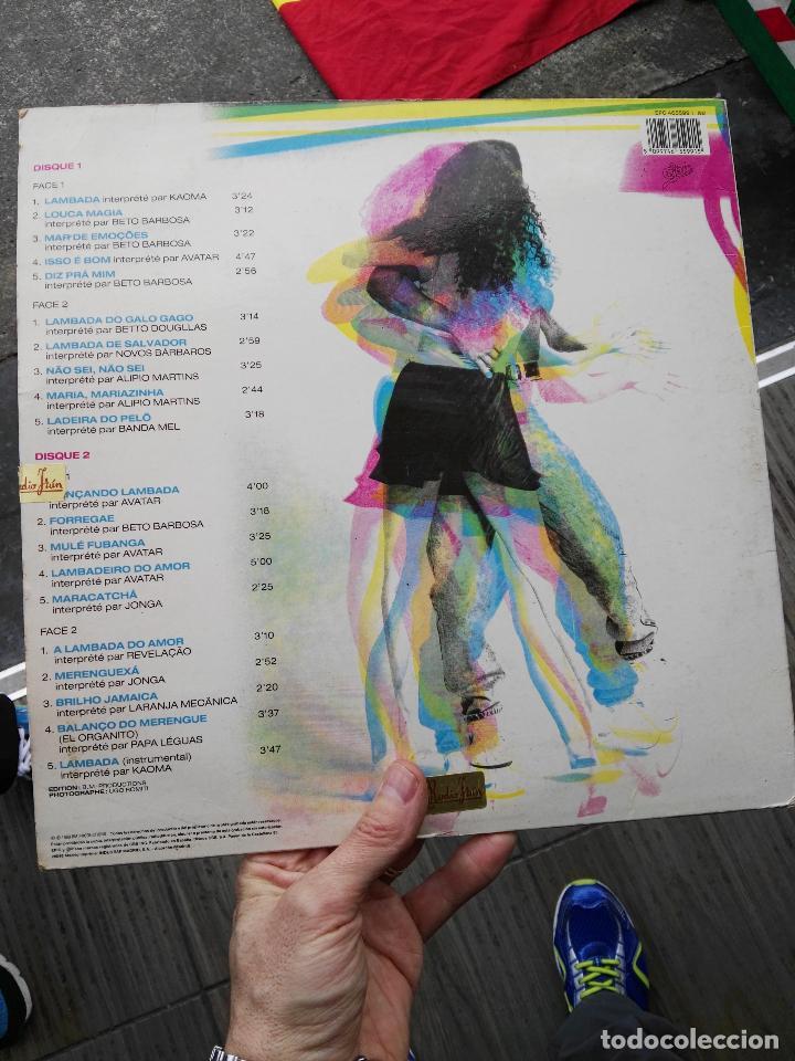 Discos de vinilo: Lp la lambada - Foto 2 - 68989617