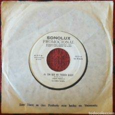 Discos de vinilo: LUCHO PEREZ & SONORA COSTEÑA SON GUARACHA SINGLE VENEZUELA. Lote 195162161