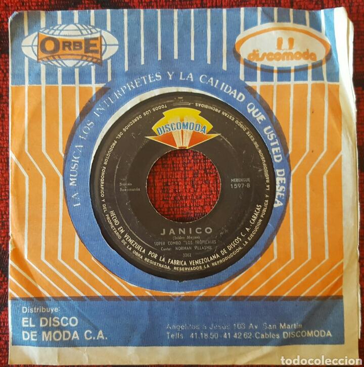 Discos de vinilo: SUPER COMBO LOS TROPICALES Single VENEZUELA GUARACHA Son - Foto 2 - 195162155