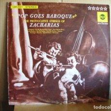 Discos de vinilo: HELMUT ZACHARIAS --- POP GOES BAROQUE. Lote 68997997