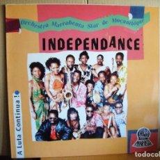 Discos de vinilo: ORCHESTRA MARRABENTA STAR DE MOÇAMBIQUE --- INDEPENDANCE. Lote 68999257