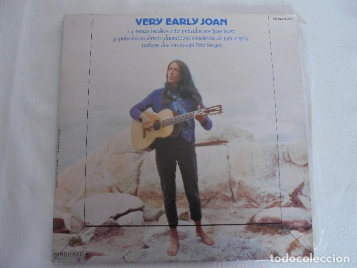 Discos de vinilo: VERY EARLY JOAN. JOAN BAEZ. HISPAVOX 1983. VER FOTOGRAFIAS ADJUNTAS. DOBLE LP. - Foto 2 - 69005101