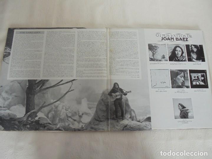 Discos de vinilo: VERY EARLY JOAN. JOAN BAEZ. HISPAVOX 1983. VER FOTOGRAFIAS ADJUNTAS. DOBLE LP. - Foto 3 - 69005101