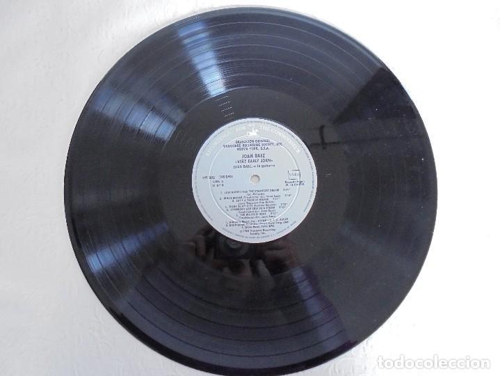 Discos de vinilo: VERY EARLY JOAN. JOAN BAEZ. HISPAVOX 1983. VER FOTOGRAFIAS ADJUNTAS. DOBLE LP. - Foto 4 - 69005101