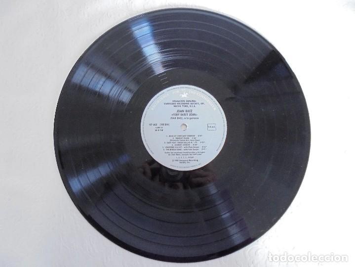 Discos de vinilo: VERY EARLY JOAN. JOAN BAEZ. HISPAVOX 1983. VER FOTOGRAFIAS ADJUNTAS. DOBLE LP. - Foto 6 - 69005101