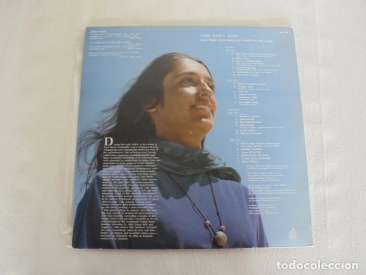 Discos de vinilo: VERY EARLY JOAN. JOAN BAEZ. HISPAVOX 1983. VER FOTOGRAFIAS ADJUNTAS. DOBLE LP. - Foto 14 - 69005101