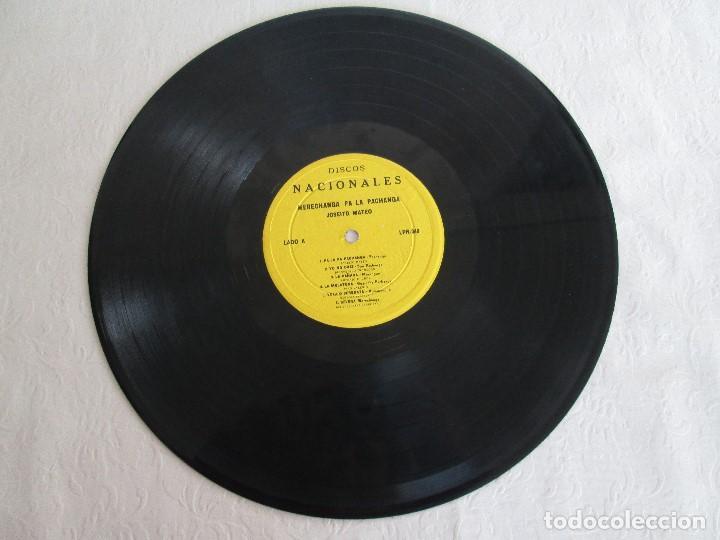 Discos de vinilo: MERECHANGA PA LA PACHANGA. JOSEITO MATEO CON LA SUPER ORQUESTA SAN JOSE - Foto 3 - 69008257