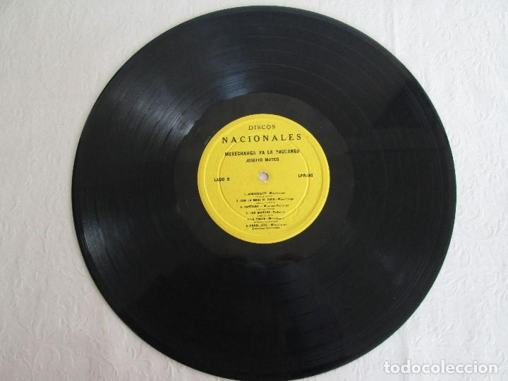 Discos de vinilo: MERECHANGA PA LA PACHANGA. JOSEITO MATEO CON LA SUPER ORQUESTA SAN JOSE - Foto 5 - 69008257
