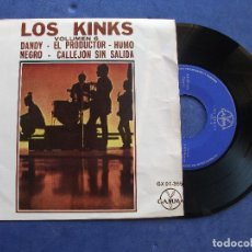 Discos de vinilo: THE KINKS DANDY + 3 EP MEJICO PDELUXE. Lote 69014785
