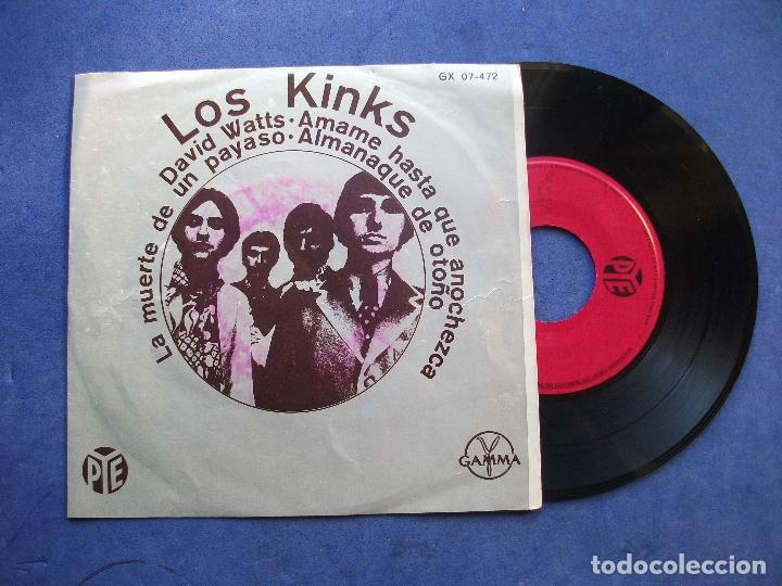 THE KINKS DAVID WATTS + 3 EP MEJICO PDELUXE (Música - Discos de Vinilo - EPs - Pop - Rock Internacional de los 70)