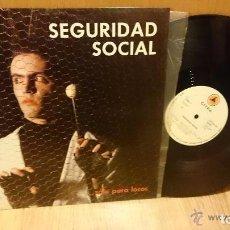 Discos de vinilo: SEGURIDAD SOCIAL - ...SOLO PARA LOCOS (CITRA, CTR-MNL-34, 12'', MINIALBUM , 1985) TOP COPY!!!. Lote 69019849