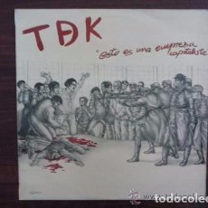 Discos de vinilo: TDEK (TDK) - ESTO ES UNA EMPRESA CAPITALISTA (LA GENERAL, 84.2250/7, LP, MINIALBUM,1985) TOP COPY!!!. Lote 69020121
