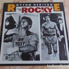 Discos de vinilo: RHYTHM HERITAGE – TEMA DE ROCKY - SINGLE 1977. Lote 69020161