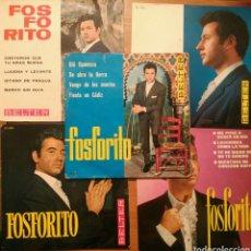 Discos de vinilo: LOTE 5 SINGLES FOSFORITO. Lote 69024561