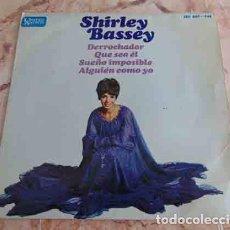 Discos de vinilo: SHIRLEY BASSEY – DERROCHADOR + 3 - EP 1967. Lote 69029585