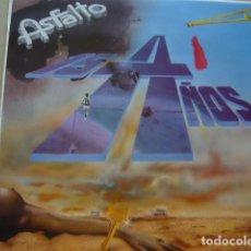 Discos de vinilo: ASFALTO. 15 AÑOS. SNIF LD 10.023 LP 1988 SPAIN. Lote 69040765