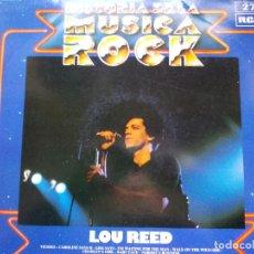 Discos de vinilo: DISCO ROCK LOU REED. Lote 69062289