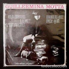 Discos de vinilo: GUILLERMINA MOTTA (EP. EDIGSA 1964) ELS ESNOBS - LA NITA - DIGUEU-ME PER QUE. Lote 69068493
