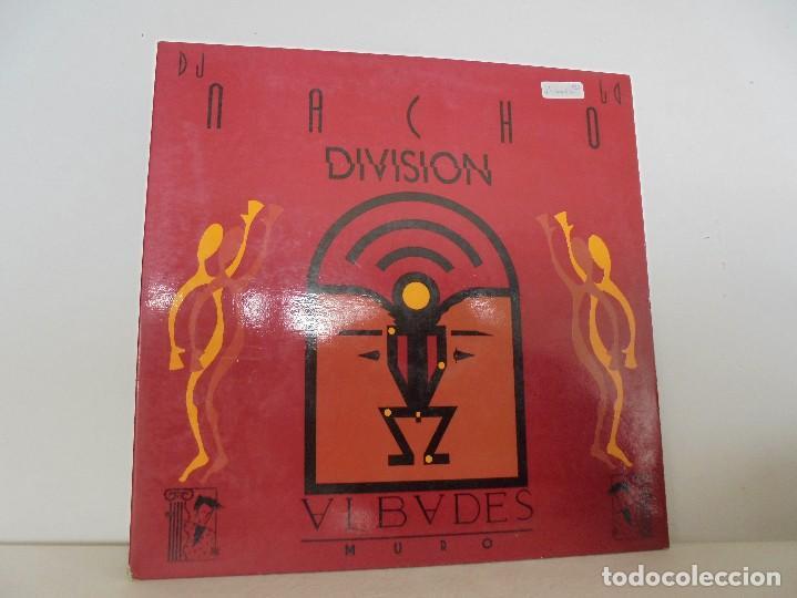 DIVISION. DJ NACHO. VER FOTOGRAFIAS ADJUNTAS (Música - Discos - Singles Vinilo - Techno, Trance y House)