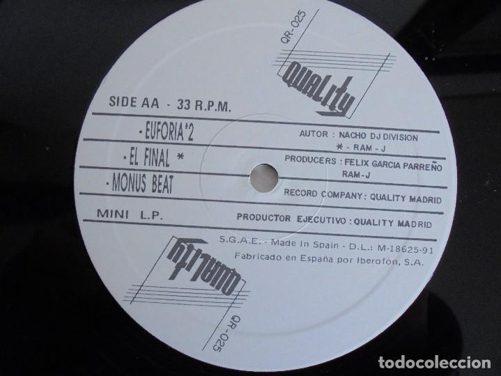 Discos de vinilo: DIVISION. DJ NACHO. VER FOTOGRAFIAS ADJUNTAS - Foto 5 - 69071849