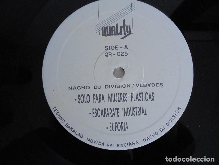 Discos de vinilo: DIVISION. DJ NACHO. VER FOTOGRAFIAS ADJUNTAS - Foto 7 - 69071849