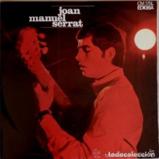 Discos de vinilo: JOAN MANUEL SERRAT ARA QUE TINC VINT ANYS, LP EDIGSA 1967. Lote 115424827