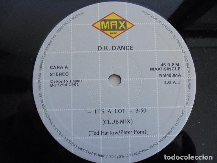 Discos de vinilo: D. K. DANCE. IT´S A LOT. VER FOTOGRAFIAS ADJUNTAS - Foto 4 - 69074417