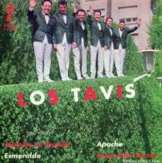 Discos de vinilo: TAVIS, EP, MAMBO EN ESPAÑA + APACHE + 2, AÑO 1962. Lote 69081265