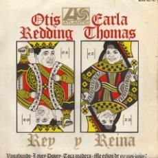 Dischi in vinile: OTIS REDDING - CARLA THOMAS, EP, TRAMP (VAGABUNDO) + 3, AÑO 1967. Lote 69081873