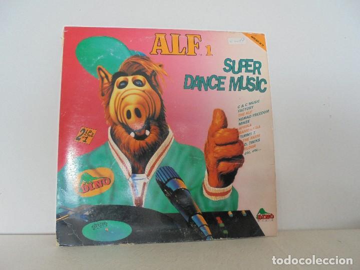 ALF 1. SUPER DANCE MUSIC. DOS DISCOS VINILO. DINO MUIC 1991. VER FOTOGRAFIAS ADJUNTAS (Música - Discos - Singles Vinilo - Disco y Dance)
