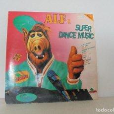 Discos de vinilo: ALF 1. SUPER DANCE MUSIC. DOS DISCOS VINILO. DINO MUIC 1991. VER FOTOGRAFIAS ADJUNTAS. Lote 69082993
