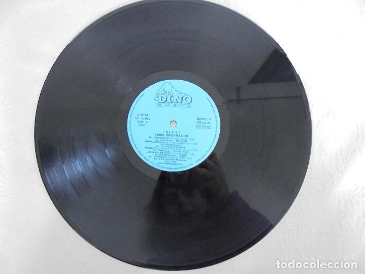 Discos de vinilo: ALF 1. SUPER DANCE MUSIC. DOS DISCOS VINILO. DINO MUIC 1991. VER FOTOGRAFIAS ADJUNTAS - Foto 7 - 69082993