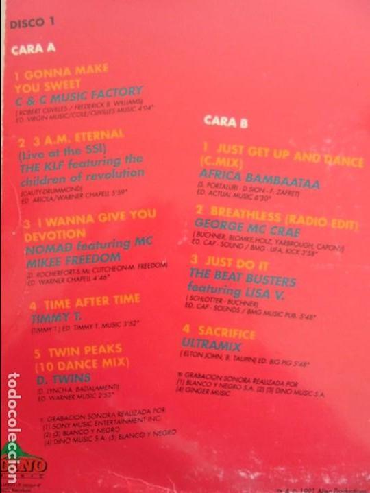 Discos de vinilo: ALF 1. SUPER DANCE MUSIC. DOS DISCOS VINILO. DINO MUIC 1991. VER FOTOGRAFIAS ADJUNTAS - Foto 11 - 69082993