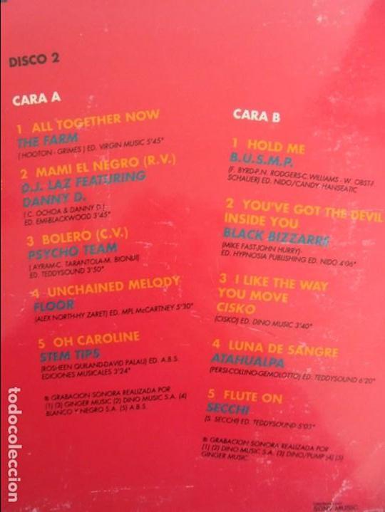 Discos de vinilo: ALF 1. SUPER DANCE MUSIC. DOS DISCOS VINILO. DINO MUIC 1991. VER FOTOGRAFIAS ADJUNTAS - Foto 12 - 69082993