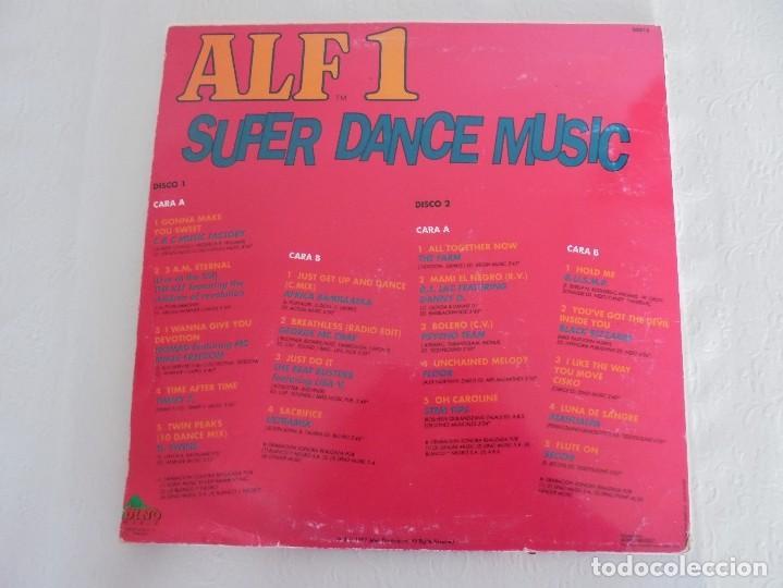 Discos de vinilo: ALF 1. SUPER DANCE MUSIC. DOS DISCOS VINILO. DINO MUIC 1991. VER FOTOGRAFIAS ADJUNTAS - Foto 13 - 69082993