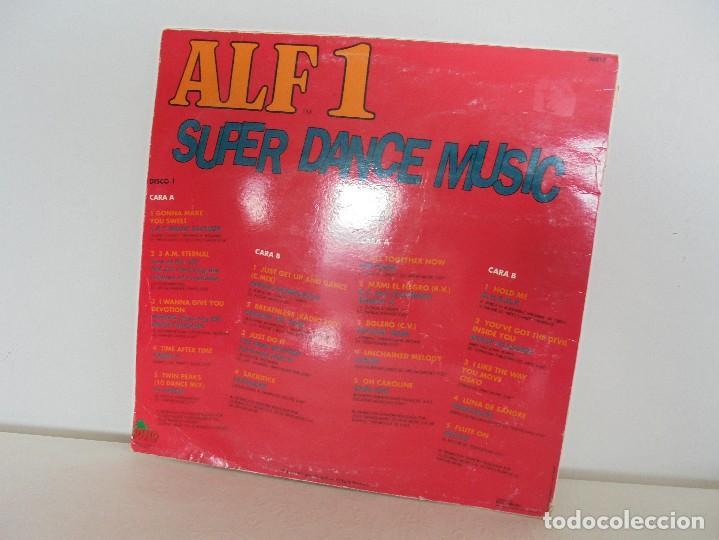 Discos de vinilo: ALF 1. SUPER DANCE MUSIC. DOS DISCOS VINILO. DINO MUIC 1991. VER FOTOGRAFIAS ADJUNTAS - Foto 14 - 69082993