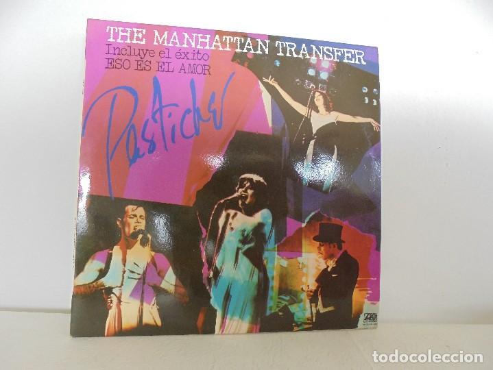 THE MANHATTAN TRANSFER. PASTICHE. 1978. VER FOTOGRAFIAS ADJUNTAS (Música - Discos - Singles Vinilo - Bandas Sonoras y Actores)