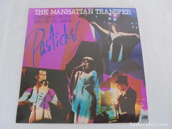 Discos de vinilo: THE MANHATTAN TRANSFER. PASTICHE. 1978. VER FOTOGRAFIAS ADJUNTAS - Foto 2 - 69083609