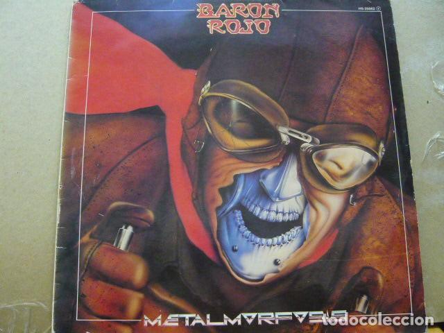 BARÓN ROJO. METALMORFOSIS. CHAPA DISCOS HS 35.062 LP 1983 SPAIN (Música - Discos - LP Vinilo - Heavy - Metal)