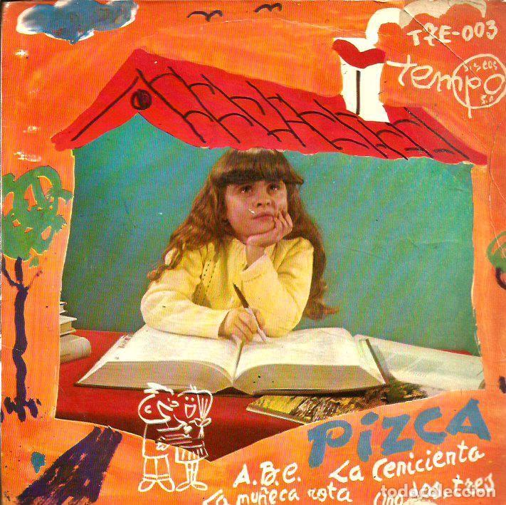 EP PIZCA (ABC + LA CENICIENTA + LA MUÑECA ROTA + UNO DOS TRES) GREG SEGURA & HERMANOS GARCIA SEGURA (Música - Discos de Vinilo - EPs - Música Infantil)
