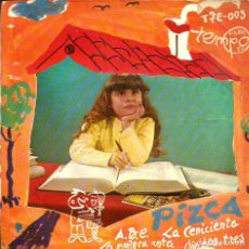 Discos de vinilo: EP PIZCA (ABC + LA CENICIENTA + LA MUÑECA ROTA + UNO DOS TRES) GREG SEGURA & HERMANOS GARCIA SEGURA. Lote 69103477