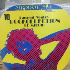 Discos de vinilo: LAURENT VOULZY-LE MIROIR-SUPERSINGLE-1977. Lote 88784576