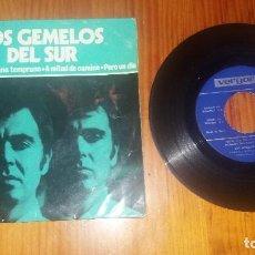Discos de vinilo: DISCO VINILO ANTIGUO DE MÚSICA LOS GEMELOS DEL SUR AÑO 1970. Lote 69110301