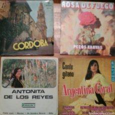 Discos de vinilo: LOTE 4 SINGLES VARIADOS. Lote 69117933