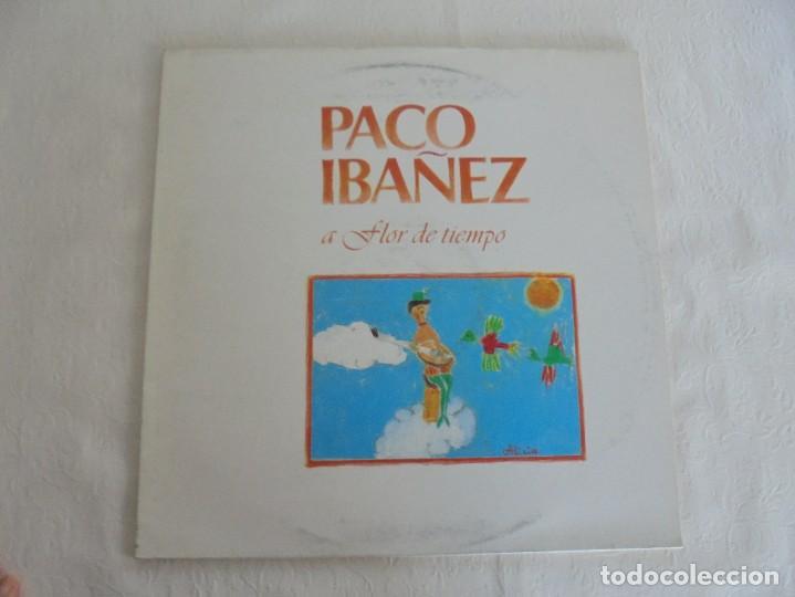 Discos de vinilo: PACO IBAÑEZ. A FLOR DE TIEMPO. ARIOLA-EURODISC 1979. VER FOTOGRAFIAS ADJUNTAS. - Foto 2 - 69273633