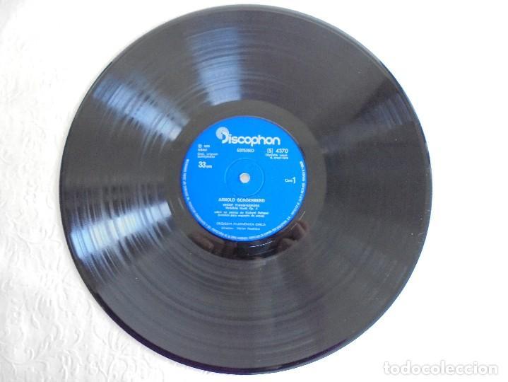 Discos de vinilo: SCHOENBERG. NOCHE TRANSFIGURADA. MAHLER. ADAGIO DE LA SINFONIA Nº 10. SUPRAPHON 1978. - Foto 3 - 69278137