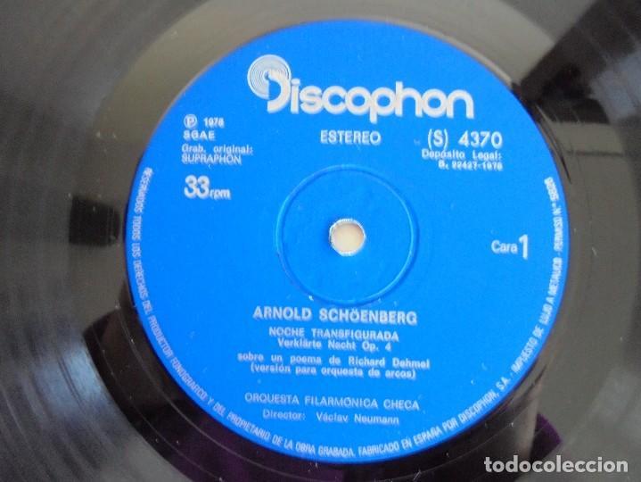 Discos de vinilo: SCHOENBERG. NOCHE TRANSFIGURADA. MAHLER. ADAGIO DE LA SINFONIA Nº 10. SUPRAPHON 1978. - Foto 4 - 69278137