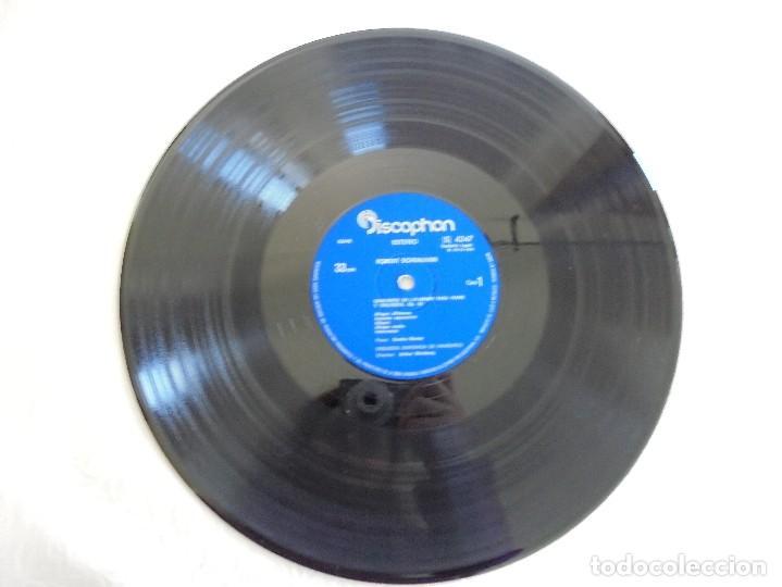 Discos de vinilo: SCHOENBERG. NOCHE TRANSFIGURADA. MAHLER. ADAGIO DE LA SINFONIA Nº 10. SUPRAPHON 1978. - Foto 11 - 69278137