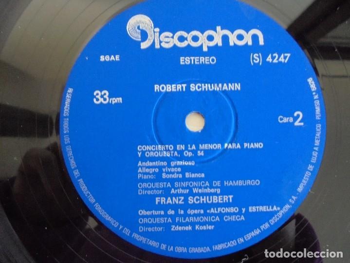 Discos de vinilo: SCHOENBERG. NOCHE TRANSFIGURADA. MAHLER. ADAGIO DE LA SINFONIA Nº 10. SUPRAPHON 1978. - Foto 14 - 69278137