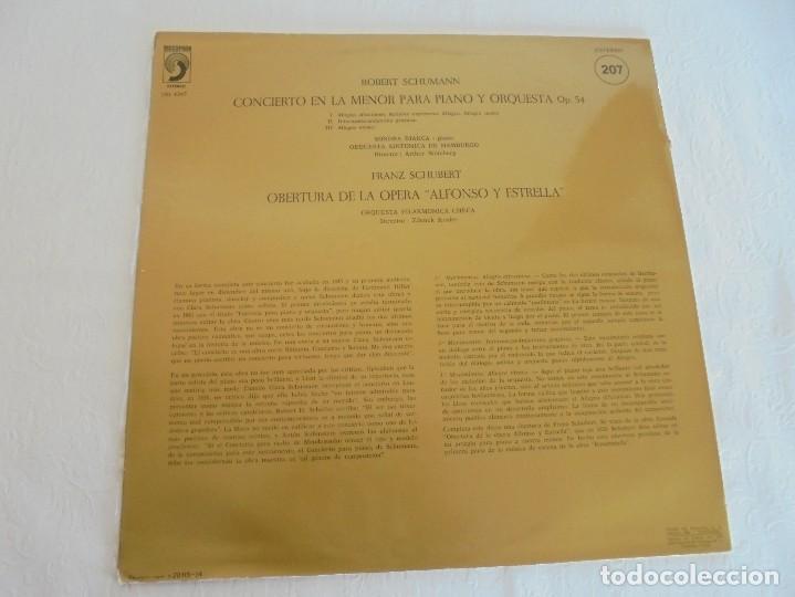 Discos de vinilo: SCHOENBERG. NOCHE TRANSFIGURADA. MAHLER. ADAGIO DE LA SINFONIA Nº 10. SUPRAPHON 1978. - Foto 15 - 69278137